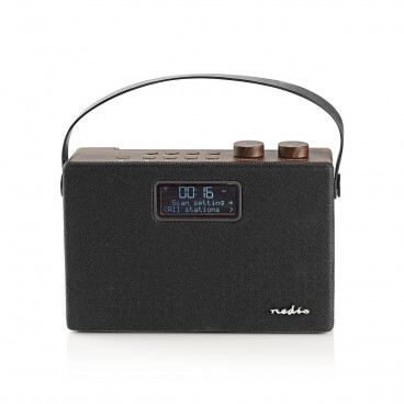 Nedis Digitale DAB+ radio | 15 W | FM | Bluetooth®