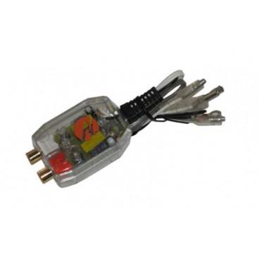 Necom Autoradio Speaker Uitgang Naar RCA Lijn Omvormer