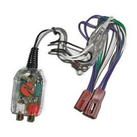Necom Autoradio Speaker Uitgang Naar RCA Lijn Iso Omvormer