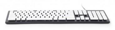 "Gembird Standaard ""chocolate"" toetsenbord USB"