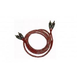 Necom Dubbel Afgeschermde RCA / Tulp kabel, 1.5 meter