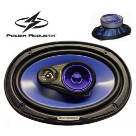 Power Acoustik zware 3 weg / 500 watt Ovale Auto Speakers