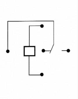 McPower 12 volt / 30 ampere Relais