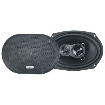 "Excalibur 3weg-6x9"" Ovale Inbouw Speakers, 2x500w"