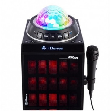 iDance XD8N bluetooth speaker met LED verlichting B-Stock