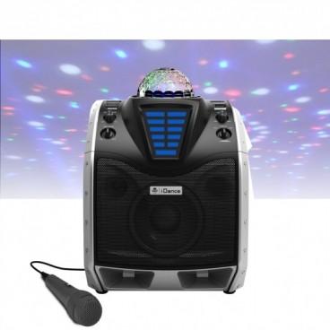 iDance XD200 Bluetooth Party Systeem met Ingebouwde Lichtshow en Microfoon
