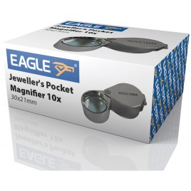 Eagle Mini Pocketloep met 10x Vergroting