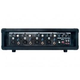 Phonic 4 kanaals Mixer Versterker