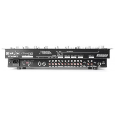 "Skytec STM-3007 6-Kanaals Mixer SD/USB/MP3/LED/Bluetooth 19"""