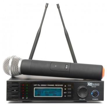 Power Dynamics PD731H 16-Kanaals UHF Draadloos Microfoonsysteem True Diversity incl. 1 Microfoon