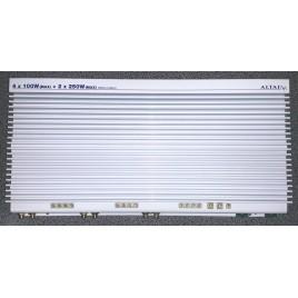 Altai 6 Kanaals HI-END Auto Eindversterker, 4x45w + 2x115w rms