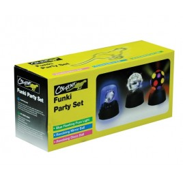 Funky Mini Disco Verlichting Set