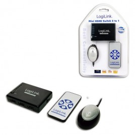 LogiLink® HDMI Schakelkast 5-Poorts met Versterker