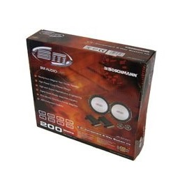 Boschmann 16.5 cm 2 weg Compo Kit, Speaker set, 2x200w