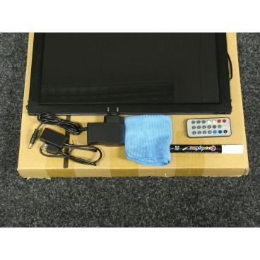 LED Schrijfbord 40 x 60 cm, Enkelzijdig