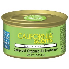 CALIFORNIA SCENTS Malibu Melon Luchtverfrisser in blik