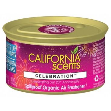 CALIFORNIA SCENTS Celebration Luchtverfrisser in blik