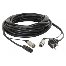Power/Signaal kabel Audio XLR 15m