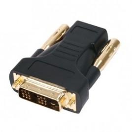 HDMI-DVI ADAPTER VERGULD