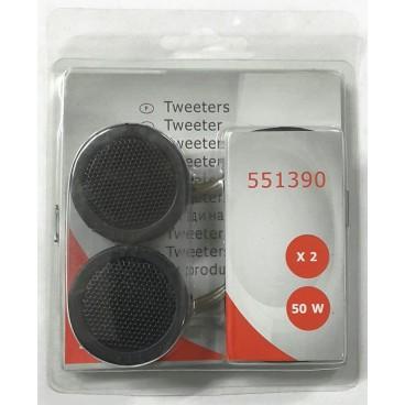 Auto Tweeter SET, 2x50 watt