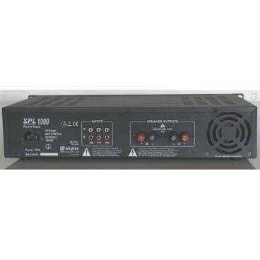 SkyTec Versterker met USB MP3 Speler en FM-Tuner, 2x350w