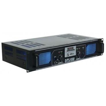 SkyTec Versterker met USB MP3 Speler en FM-Tuner, 2x500w