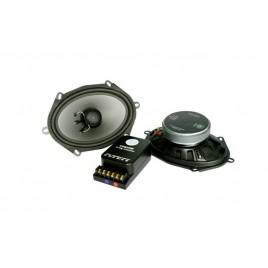 """DLS 5x7"""" Hi-End Ovale Inbouw Speakers met Scheidingsfilter"""