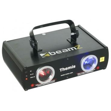 BeamZ Themis 2-Weg Laser Effect DMX - Rood/Blauw