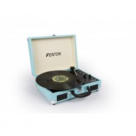 Fenton RP115 Platenspeler Briefcase Blauw