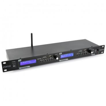 Fenton VX2USB Dubbele speler met opnamefunctie USB/SD/BT