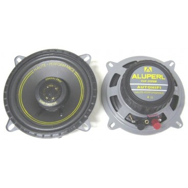 Aluperl 13 cm / 2 weg auto inbouw luidsprekers, 2x50w