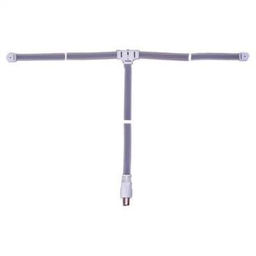 Electrovision FM lintantenne met Vrouwetje Coax Stekker 1.8m