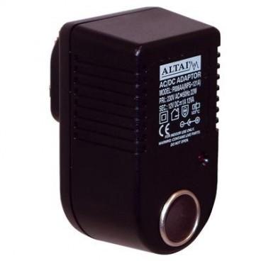 Altai 220V naar 12V 1A AC Adapter met sigarenaansteker aansluiting