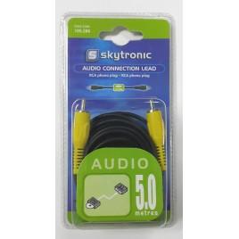 Skytronic 5m Enkele RCA kabel