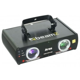 BeamZ Ares 2-Weg Laser Effect DMX - Groen/Paars