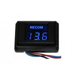 Necom PF-P12V Digitale voltmeter met remote aansluiting