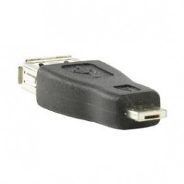 Micro USB naar USB-A female Verloop Stekker