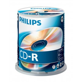 Philips CD-R80 spindel, 100 stuks