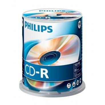 Philips CD-R Spindel, 100 stuks