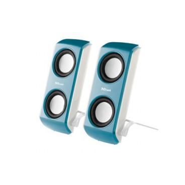 Trust USB Multimedia Speakers Blauw