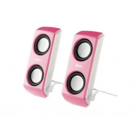 Trust USB Multimedia Speakers Roze