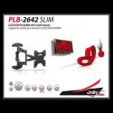 "PLB-2642 SLIM Verstelbare universele muurbeugel voor 26"" tot 42"" LCD LED plasma TV"