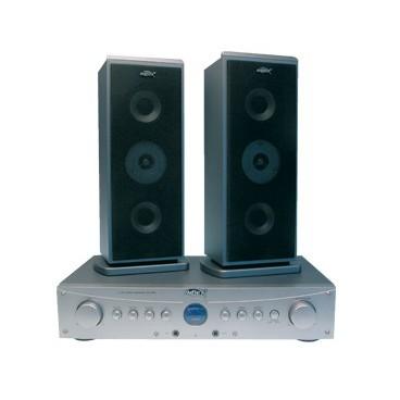 Index 2.1 Hi-Fi set met Karaoke microfoon ingang