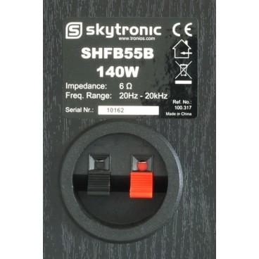 """Skytronic SHFB55B Boekenplank luidspreker set 5"""" - Zwart"""