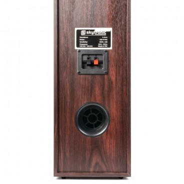 5.0 Home Theatre Speaker Systeem - Walnoot