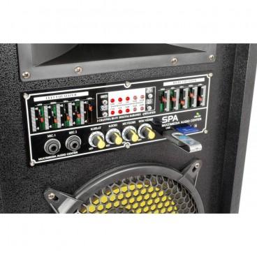 "SkyTec SPA1000Y PA Actieve speakerset 10"" USB SD"