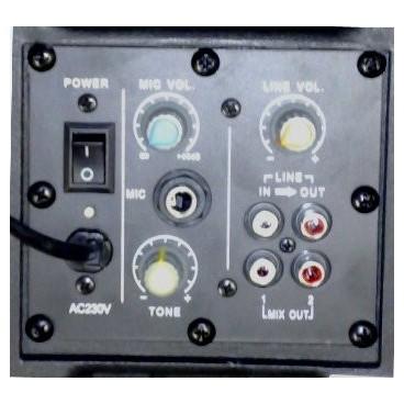 "SkyTec SP800A ABS Actieve PA speaker 8"" 200W"