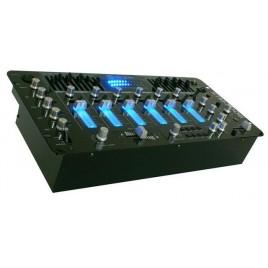 "SkyTec STM-3006 6-Kanaals 19"" mixer"