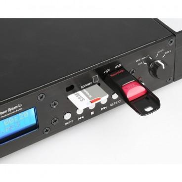 Power Dynamics PDC75 USB/SD/Bluetooth Mediaspeler met opnamefunctie