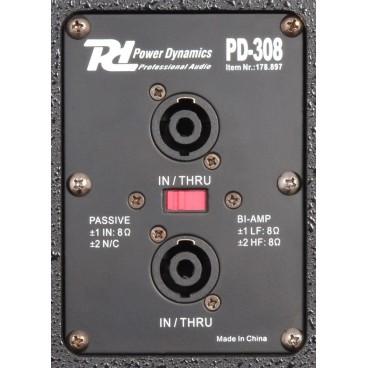 """POWER DYNAMICS PD-308 PA-Speaker 8"""" 200W"""